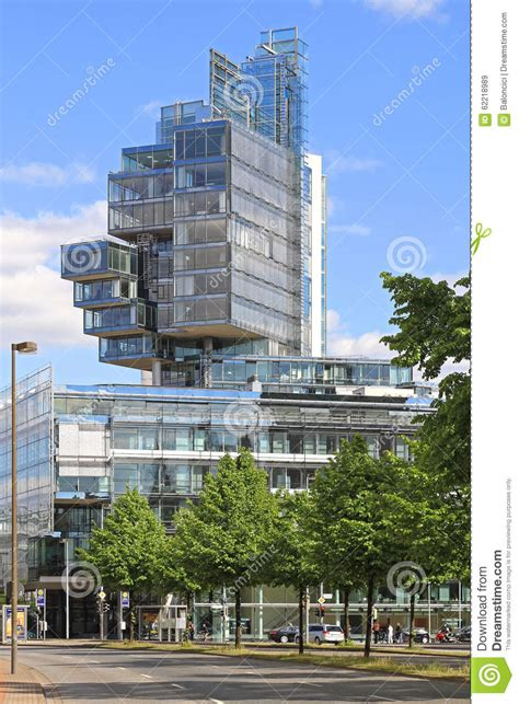 deutsche bank hannover kleefeld norddeutsche landesbank hannover editorial stock image