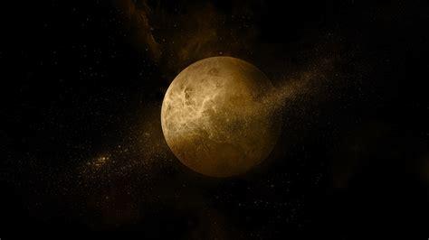 golden dark planet huawei honor  stock wallpapers hd