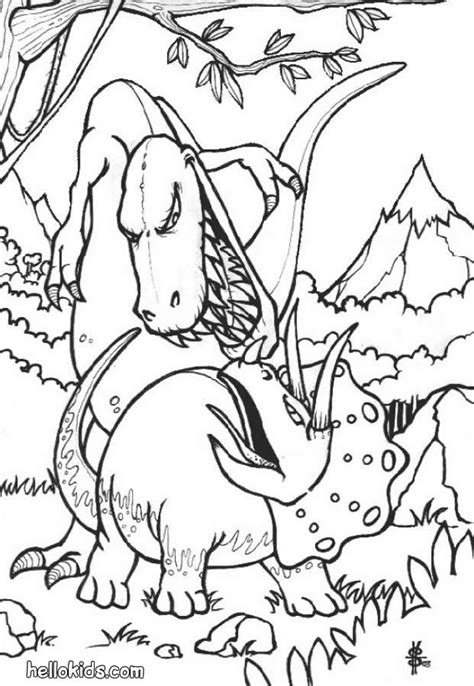 underwater dinosaurs coloring pages dinosaurs fights coloring pages hellokids com