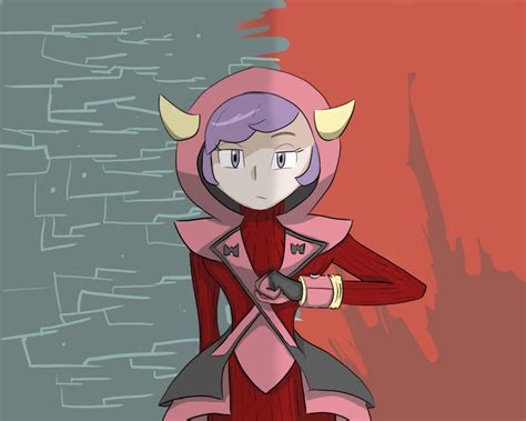 team magma admin redrawn by admin by littlerubykitty on deviantart
