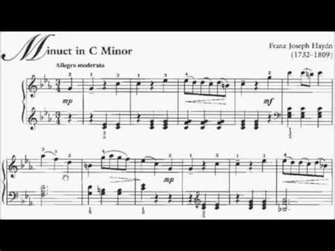 60s swing sheet abrsm piano 2015 2016 grade 5 a 5 a5 haydn minuet in c