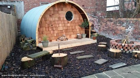 Hobbit House Shed by The Hobbit House Cabin Summerhouse From Garden Owned By