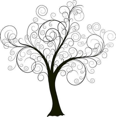 tree scrolltree x size free images at clker com vector