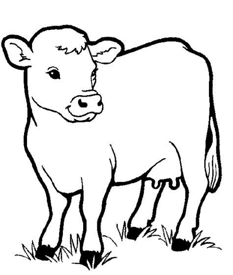 Cute Farm Animals Coloring Pages | cute farm animal coloring pages