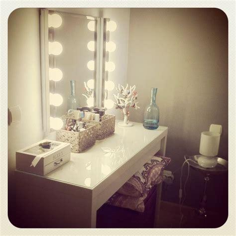 ikea dressing table vanity lights tsryhat pinterest