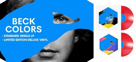 Beck Colors 1cd 2017 new beck quot colors quot limited colored vinyl pre order vinyl
