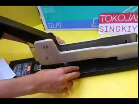 Stapler Jilid Max Hd 12l17 cara penggunaan stapler max hd12l 17