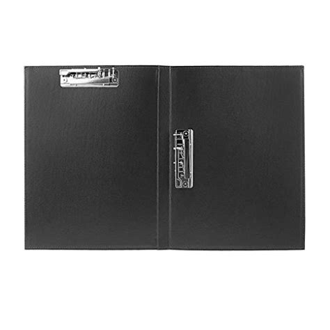 Clobeau Upscale Leather A4 Lever Arch File Cover Clipboard