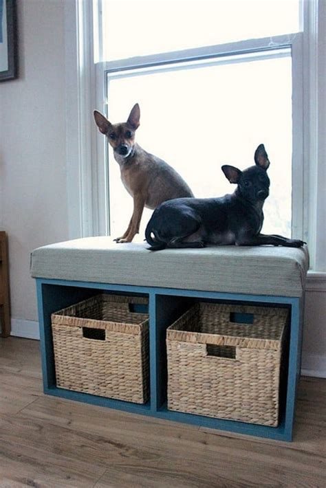 DIY Corner Bench with Storage and Seating   DIY Ideas Tips