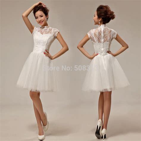 design dress untuk bridesmaid 2015 vintage lace short bridal gowns latest design