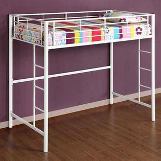 kmart loft bed walker edison metal twin loft white bunk bed home