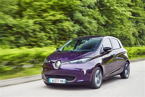 renault zoe engine 2018 renault zoe has more power looks awesome in purple
