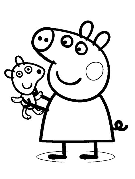 peppa pig thanksgiving coloring pages peppa pig books coloring home