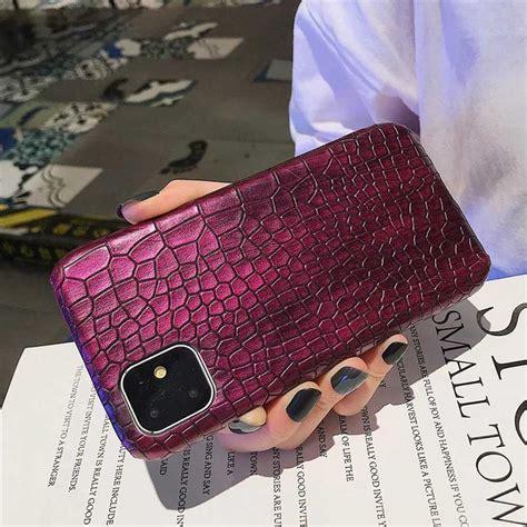 crocodile snake skin phone case  iphone  pro max