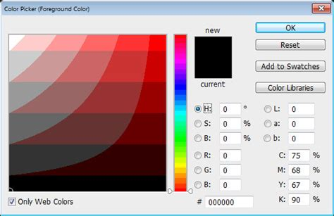 help my photoshop color picker looks weird 171 projectwoman com