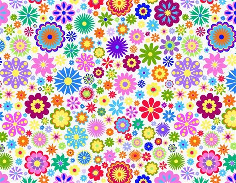 background design with flowers flower background design vector illustration free vector