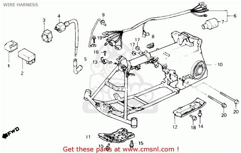 1986 honda trx 70 diagram 1986 free engine image for