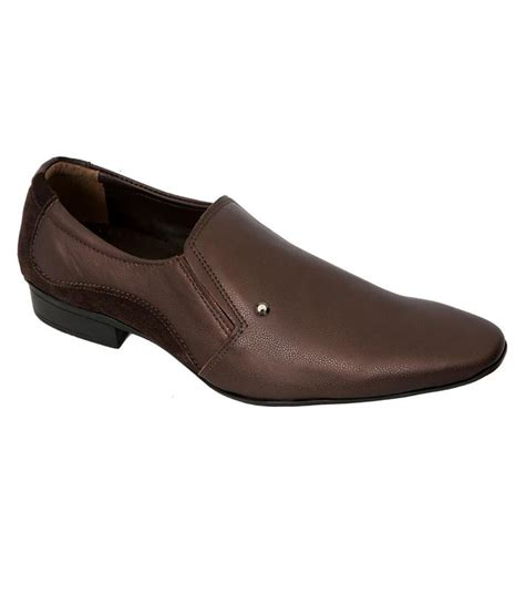 68 on auarshoes brown leather formal shoes for on