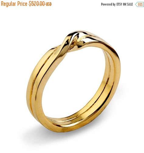 sale knot 14k yellow gold wedding band