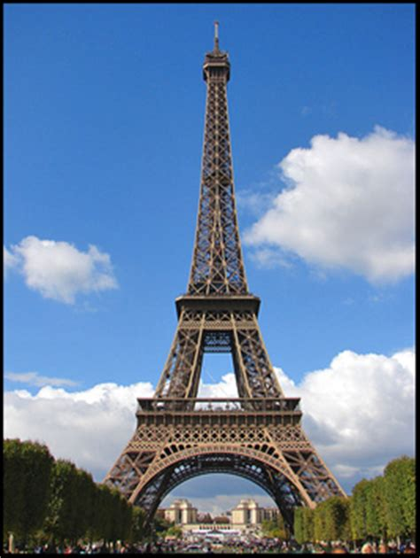 famous world famous french buildings