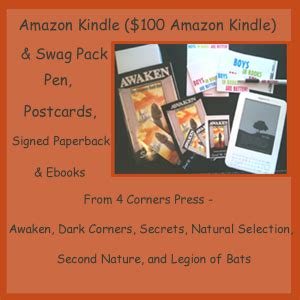 win a kindle swag packs giveaway kindle and swag pack