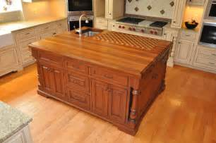 the trendy look of butcher block countertops cabinets by graber