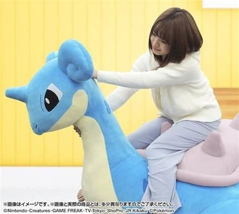 japan trend shop pokemon lapras inflatable plushie giant sofa