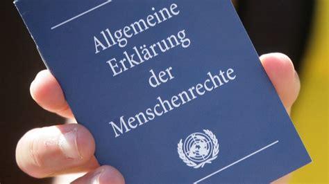 wann wurde die uno gegr ndet geschichte der menschenrechte die allgemeine erkl 228 rung