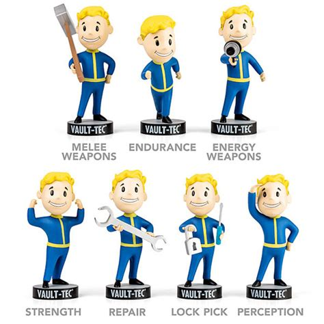 fallout bobbleheads will collect them all fallout 3 vault tec bobbleheads