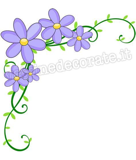 fiori decorazioni decorazione angolare con fiori primaverili