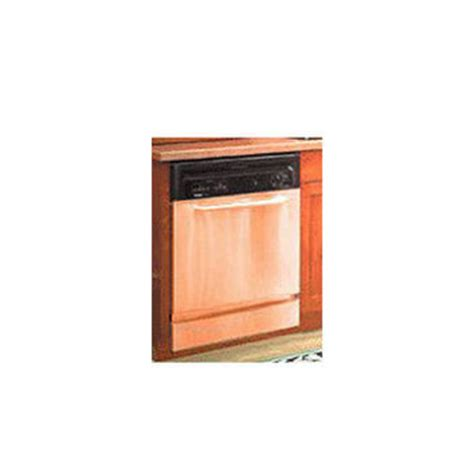 Copper Appliance Frame Panel Set By Stainless Crafts | kitchen accessories unlimited copper dishwasher frame