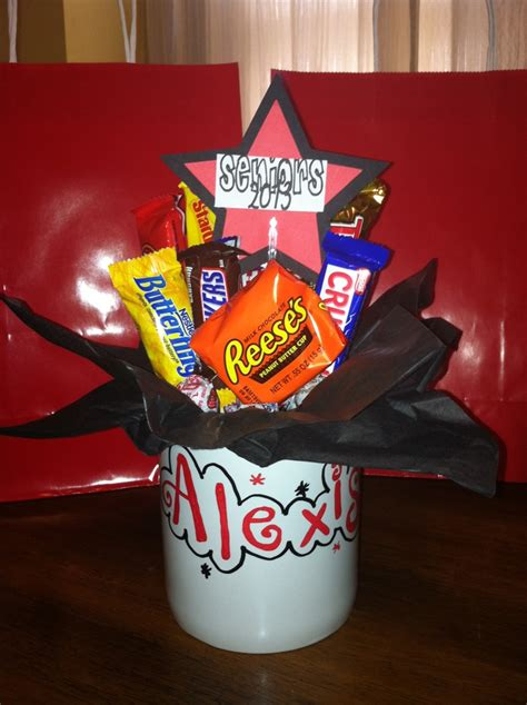 How To Make Candy personalized candy bouquet mugs inexpensive gift idea