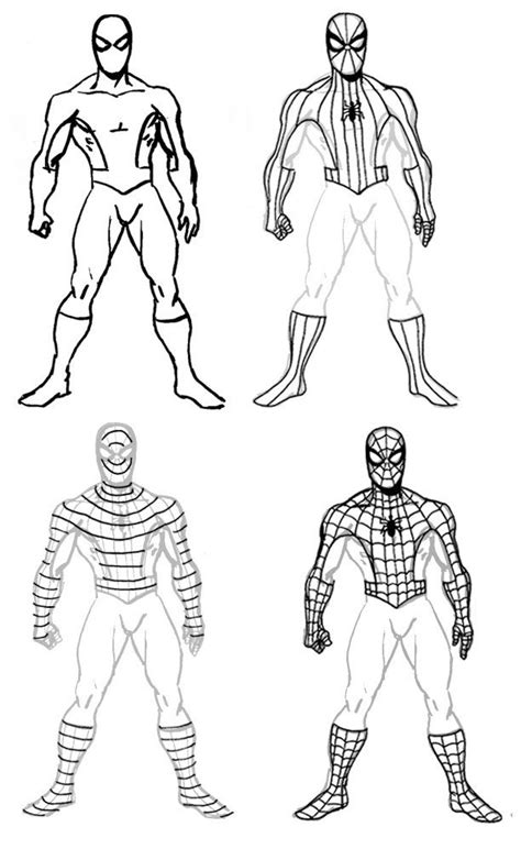 How To Draw Spider-Man in 2019   Spiderman drawing