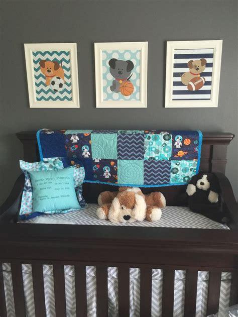 dog themed home decor puppy dogs wall art dog baby boy bedroom sports nursery