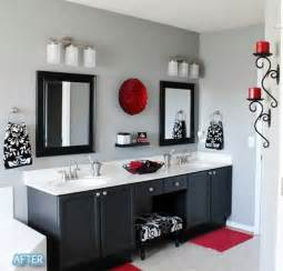 Black White And Red Bathroom Decorating Ideas by Bathroom Designs Black And Red Bathroom Modern Black White