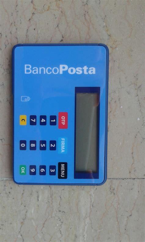 lettore banco posta conto corrente bancoposta click di bancoposta e promozioni