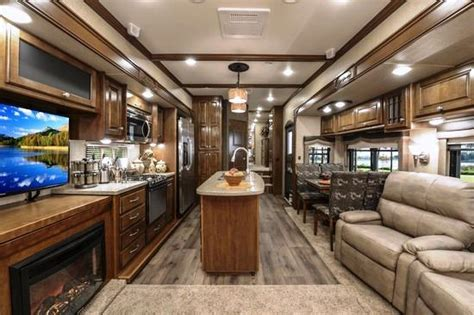Camper Floor Plans by Luxury Full Time 5th Wheel
