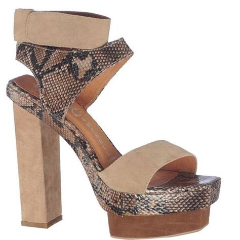 Amato Shoes 24 sandale cu platforma si toc de dama marca jeffrey cbell