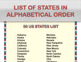 list of all us states states and capitals worksheets