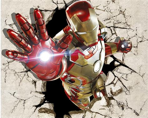 wallpaper 3d iron man aliexpress com buy custom 3d mural wallpaper tv backdrop