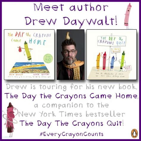 the who came home a novel of the titanic p s festive costume parade of crayons with author drew daywalt