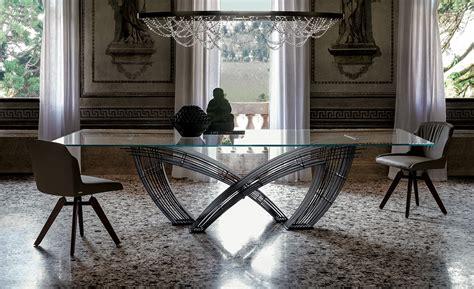 tavolo cattelan italia tavolo rettangolare in cristallo hystrix by cattelan