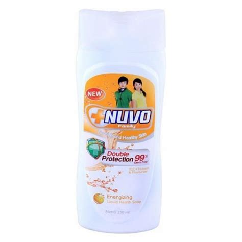 nuvo liquid soap botol gold 250ml