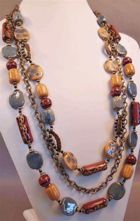 Kazuri Necklace Strand Necklace By