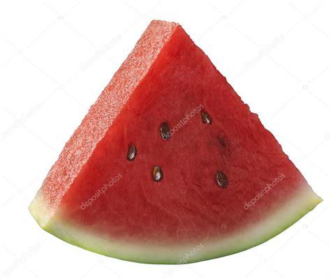 ni un pedazo de einzelne wassermelone st 252 ck isoliert auf weiss stockfoto 53282251