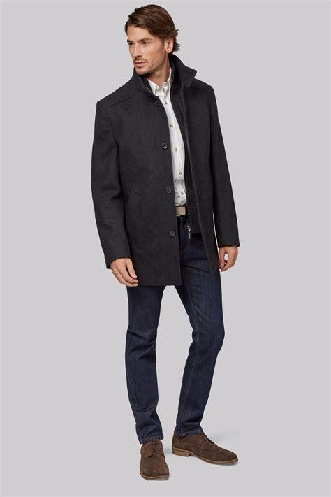 Ats Kemeja Slim Fit Casual Ac Milan Black Maroon Limited Edition wool coat coat racks