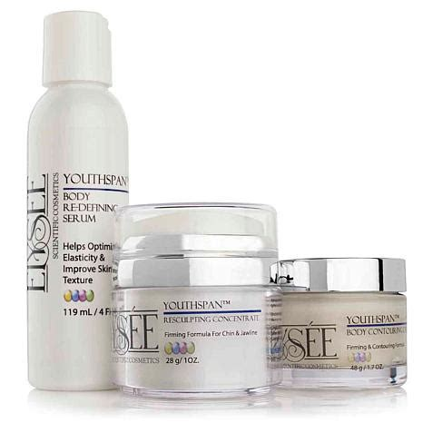 Www Detox Renew Trio by Elysee Youthspan Renew And Refresh Trio 7236075 Hsn