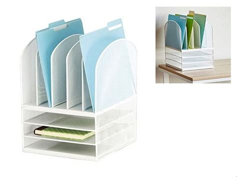 File Desk Organizer Best 25 Desktop File Organizer Ideas On Desk File Organizer Office Supply Storage