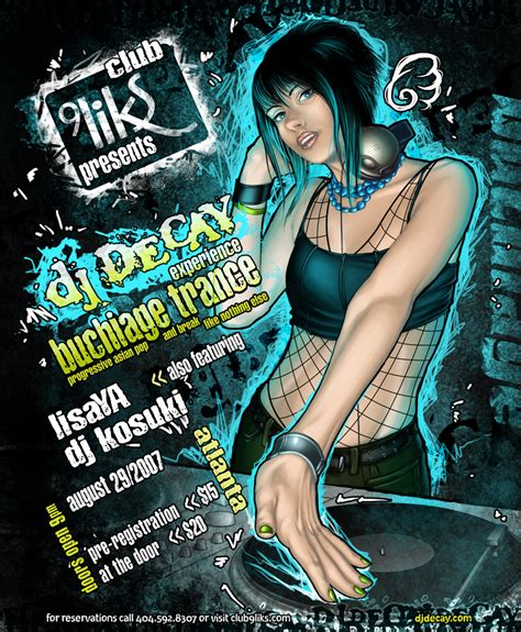 design dj poster dj poster by cyzra on deviantart