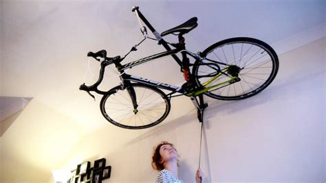 designer creates clever bicycle storage solution by
